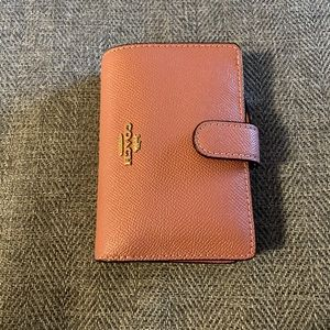 Coach Pink Multi Section Wallet